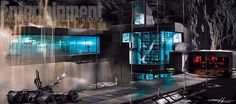 The Batcave got a major upgrade for #BatmanVSuperman—see the concept art.