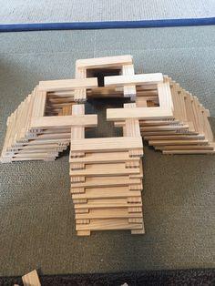 KAPLA Jenga Blocks, Wooden Blocks, Diy For Kids, Crafts For Kids, Diy Crafts, Steam Activities, Diy Toys, Kids House, Diy Party