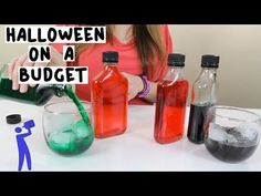 Halloween on a Budget - Tipsy Bartender