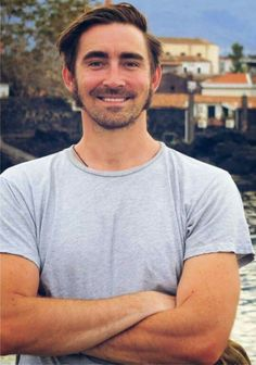 Lee Pace in Italy, 2012