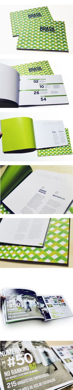 Architectural publication for ACXT Brasil