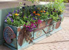 Plaza Planter   Flickr - Photo Sharing!