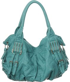"Purse Boutique: Turquoise L ""Arango"" Hobo Purses"
