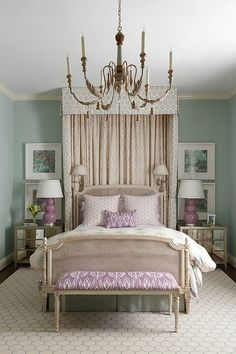 Curtains and valance behind bed New Bedroom Design, Bedroom Decor, Interior Design, Bedroom Curtains, Bedroom Wall, Design Design, Master Bedroom, Wall Decor, Coastal Bedrooms