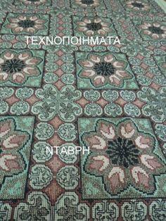 Gallery.ru / Фото #74 - ιουλιος - ergoxeiro Cross Stitch Designs, Cross Stitch Patterns, Needlework, Diy And Crafts, Bohemian Rug, Rugs, Crochet, Zoom Zoom, Ava