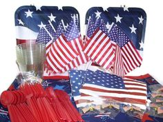 July 4th Decorations Party Pack for 10