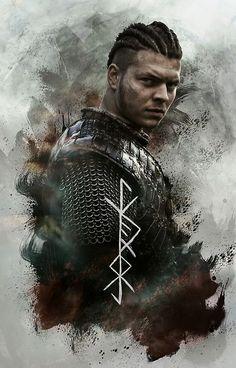"Ivar ""The Boneless"" Lothbrok Ivar Vikings, Vikings 2, Vikings Show, Vikings Tv Series, Sons Of Ragnar, King Ragnar, Ragnar Lothbrok Vikings, Lagertha, Viking Art"