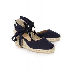 d607bbe559 Castaner Women s Carina Wedge Espadrilles - Navy Blue Summer Formal  Dresses