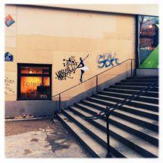 #photo #streetart #Paris11 #PEAV @Menilmuche @Tarek // Paris Tonkar @LeMURoberkampf @Bibliothèque Couronnes