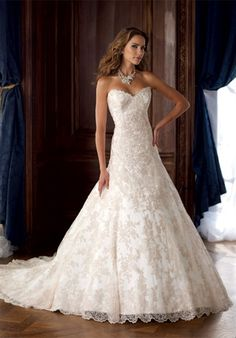 David Tutera for Mon Cheri. Petunia. $1,573  TOP 2 WEDDING DRESS