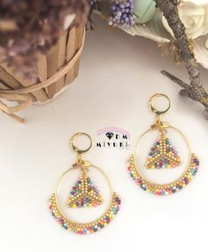 Colorful earring 💛💚💜💙 Design✂️Photo📸👉🏻Dm miyuki✨ •⚡️ Bilgi için Dm 📲ulaşabilirsiniz ✨ • • • #miyuki #küpe #earrings #happy #beads #handmade #beautiful #design #takı #trend #moda #fashion #like4like #style #details #like4like #art #girls #accessories #aksesuar #taki #elemeği #tasarim #photooftheday #picoftheday#instagood #love #instalove #instadaily#colorful#gold