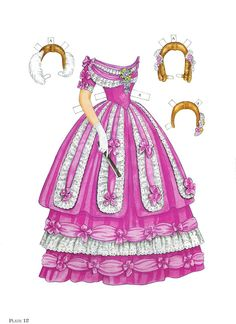 Paper Dolls~Godey's Early Victorian Fashions - Bonnie Jones - Álbumes web de Picasa