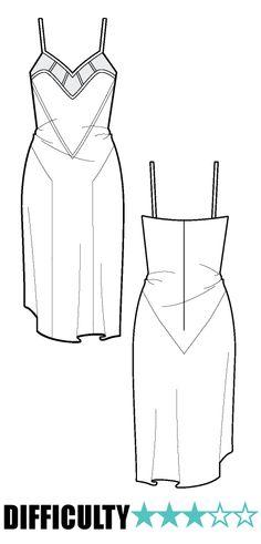 PR074 - Ralph Pink Patterns | CAMISOLE DRESS
