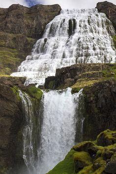 ✯ Dynjandi Falls In Iceland