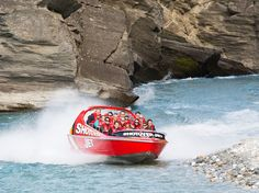 It's hard to leave Queenstown without getting in a jet boat (even Prince William and Kate Middleton took a ride last year). It's one of the more popular—and accessible—thrills in the South Island, shooting through canyons and over rapids at upwards of 50 mph. Shotover Jet has been navigating Shotover Canyons longer than AJ Hackett has been leaping off bridges.