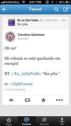 Animo, colonia!! (Gracias, @María Carolina Quintana Noriega !)