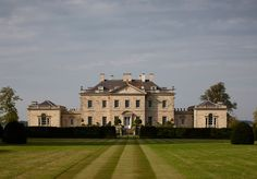 "livesunique: "" Ferne Park Donhead St Andrew, Wiltshire, UK Quinlan and Francis Terry Architect "" Georgian Mansion, Georgian Homes, English Manor Houses, English House, Georgian Architecture, Classical Architecture, Sustainable Architecture, Landscape Architecture, Villas"