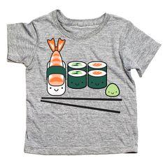Kawaii sushi t- shirt