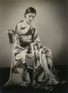 Lady with kimono, (Masao Japanese Photography, Old Photography, Japanese Kimono, Japanese Girl, Vintage Photographs, Vintage Photos, Kimono Design, Photo Vintage, Japan Photo