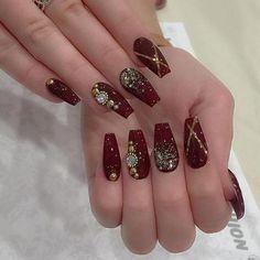 Indian Nail Designs Gallery indian bride nail art in 2020 bride nails bridal nail art Indian Nail Designs. Here is Indian Nail Designs Gallery for you. Indian Nail Designs indian nails the best images bestartnails. Indian Nail Designs p. Really Cute Nails, Pretty Nails, Indian Nails, Indian Nail Art, Nagel Bling, Bridal Nail Art, Bride Nails, Burgundy Nails, Burgundy Nail Designs