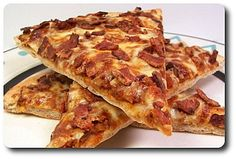 Culinary in the Desert: Bacon Cheeseburger Pizza Bacon Cheeseburger Pizza, Bacon Pizza, Bacon Bacon, Pizza Pizza, Pizza Dough, Bacon Recipes For Dinner, Beef Recipes, Snack Recipes, Pizza Recipes