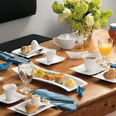 Your NewWave Breakfast Set - Villeroy & Boch Breakfast Set, Serveware, Table Settings, Food, Breakfast Nook Set, Table Top Decorations, Place Settings, Dining Sets, Dinner Table Settings