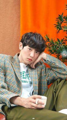 Image about cute in PCY💋 by marie✨ on We Heart It Exo Chanyeol, Exo Ot12, Kpop Exo, Kyungsoo, Chen, Kris Wu, Chanbaek, Rapper, Exo Music