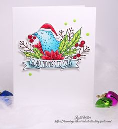 Running With Scissors...: More Merry Making Holiday Birds