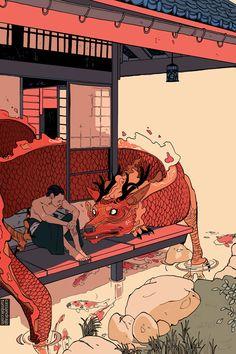 43 trendy ideas for fashion illustration jeans drawings Art And Illustration, Japanese Illustration, Aesthetic Anime, Aesthetic Art, Fantasy Kunst, Fantasy Art, Bel Art, Animation, Pretty Art