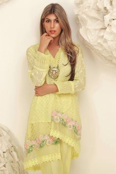 Sana Abbas Beautiful Formal Eid Dresses Designs Collection consists of latest styles of luxury pret festive and event wear shirts, suits, kurta, etc Stylish Dresses, Casual Dresses, Formal Dresses, Formal Wear, Eid Dresses, Pakistani Outfits, Sleeve Designs, Festival Wear, Asian Style