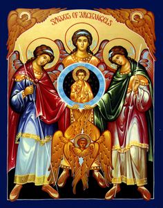 Byzantine Icons | Orthodox Icons of the Angels Gifts - St Joseph School for Boys ...
