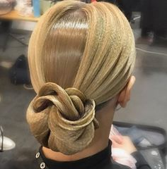 Fab prom hairstyles all down Latin Hairstyles, Prom Hairstyles All Down, Hairstyle For Wedding Day, Braided Hairstyles, Cool Hairstyles, Wedding Hairs, Updo Hairstyle, Dance Competition Hair, Ballroom Dance Hair