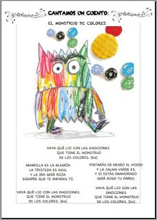 mira, escucha, lee... blog de aula: EL MONSTRUO DE COLORES NOS VISITA Kindergarten, Blog, Monster Activities, Kids Activity Ideas, Colors, Emotions Activities, Toddler Activities, Thematic Units, Emotions Preschool