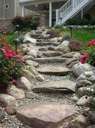 Image result for side sloped backyard landscaping #backyardlandscapediystonewalkways