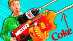 Video: Last year, Mark Rober built the world's largest Nerf dart gun,  capable of blasting foam at 64km/h. Sure, that made it slightly more  dangerous than ...