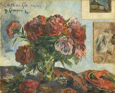 Paul Gauguin (French, 1848–1903) Still Life with Peonies, 1884, oil on canvas, 231/2 × 283/4 in. National Gallery of Art, Washington, D.C., Collection of Mr. and Mrs. Paul Mellon, 1995.47.10