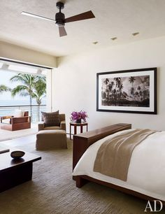 Cindy Crawford and Rande Gerber and Neighbor George Clooney's Side-By-Side Mexican Villas--image via Architectural Digest