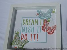 Stampin mit Scraproomboom - Stampin' Up! Layered Letters Alphabet