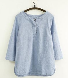 http://www.aliexpress.com/item/Simply-Design-Solid-Color-One-Button-Cotton-Linen-Women-Loose-Shirt-Three-Quarter-Sleeve-Spring-Summer/32351224743.html
