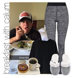 """breakfast with calum"" by awk0cass ❤ liked on Polyvore featuring Topshop, Chicwish, Victoria's Secret, women's clothing, women's fashion, women, female, woman, misses and juniors"
