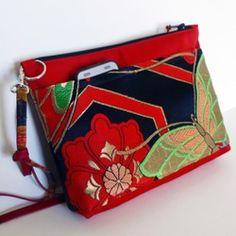 Japan Bag, Cross Shoulder Bags, Quilted Handbags, Linen Bag, Patchwork Bags, Fabric Bags, Handmade Bags, Beautiful Bags, Evening Bags