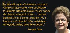 1. Saudação à mandioca.  2. Dilma, a