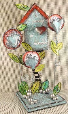 PaperArtsy: 2015 #2 Treasure 'Silver' {by Trish Latimer}