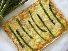 Asparagus Tart, Cheese Tarts, Greek Recipes, Zucchini, Cooking Recipes, Favorite Recipes, Vegetables, Eat, Recipe Ideas