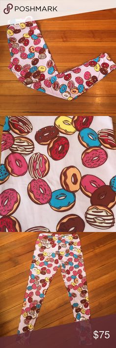 Lularoe Tall & Curvy Donuts! Buttery Soft Leggings Brand-new buttery soft leggings! Major UNICORN Print!! Very hard to find print!! Size is TC-Tall and Curvy. Fits 10-22--brand-new with tags, never worn, smoke free home. ❌No trades ✅ ships within 24 hours of purchase LuLaRoe Pants Leggings
