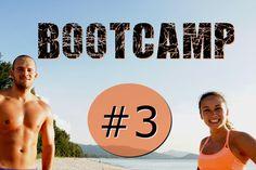 Bootcamp Workout #3 - Flacher Bauch - effektiv abnehmen - Ganzkörperwork...