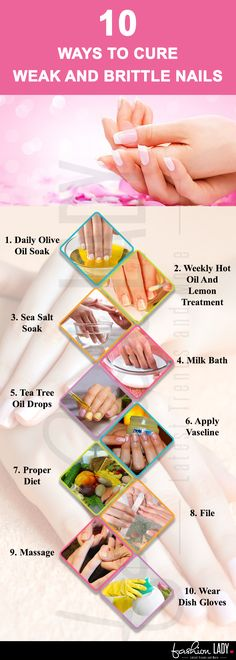 10 Ways to Cure Brittle Nails