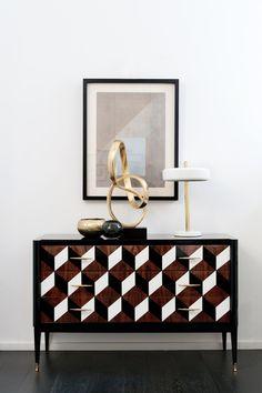 Mobili vintage per Studio Dimore Collection - Bagno Italiano Blog