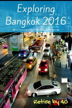 We're exploring Thailand for 3 weeks. We started off our journey in Bangkok and we're having a great time. The food culture here is awesome. The traffic is a nightmare, though.  via @retireby40