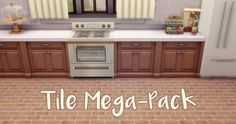 Tile Mega-PackPart 1 of another follower request! An anon asked for floor recolors of any kind, so I chose to do some tiles and wood floors. Today you get the tiles! I picked out nine tile floors that...
